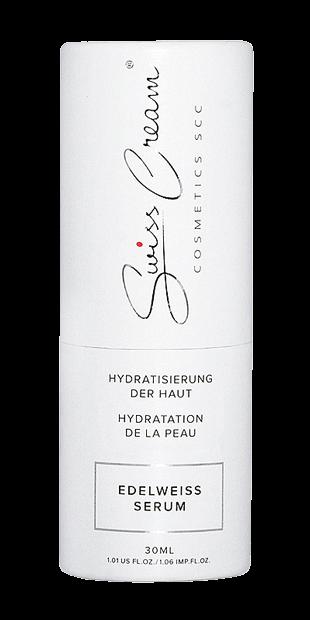 Swiss Cream - vegane Kosmetik Edelweiss Serum